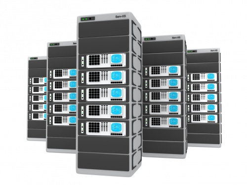 OpenCellID server rack.jpg